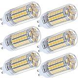 IDACA 6er-Pack G9 Energiesparlampe 220V 9W 69 X 5050SMD LED Birne Super Lampe Leuchtmittel Warmweiß