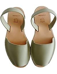 Avarcas menorquínas con plataforma / cuña 2,5 cm, varios colores, abarcas, albarcas, sandalias