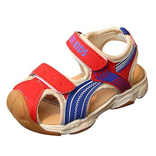 n Rock Lite Lauflernschuhe Unisex-Kinder Ii Geschlossene Sandalen Crab Jungen Beach & Pool Sneakers Somme Strandschuhe Trekking-& Wanderschuhe(rot,22) ()