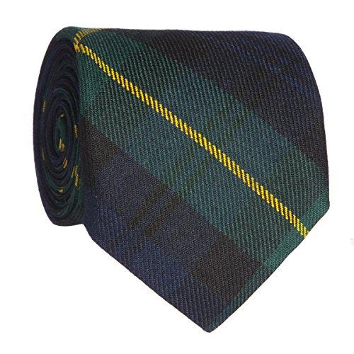 Lochcarron Tartan Reiver Tie Gordon Clan Modern