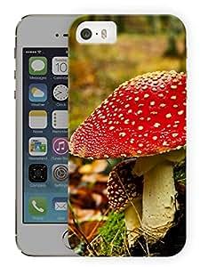 "Humor Gang Magic Mushrooms Printed Designer Mobile Back Cover For ""Apple Iphone 5-5S"" (3D, Matte Finish, Premium Quality, Protective Snap On Slim Hard Phone Case, Multi Color)"