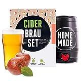 Geschenk für Frauen | Cider-set Apfel | Apfelwein zum selber machen | In nur 7 Tagen trinkfertig | Perfektes Geburtstagsgeschenk für Frauen