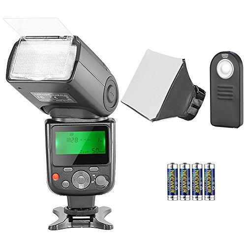 Neewer Kit di Flash Speedlite TTL NW-670 per Canon, con Wireless...