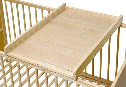 KOKO- Wickelbrett | Wickeltisch | EMILIA | Wickelaufsatz für Betten 140x70 und 120x60 cm