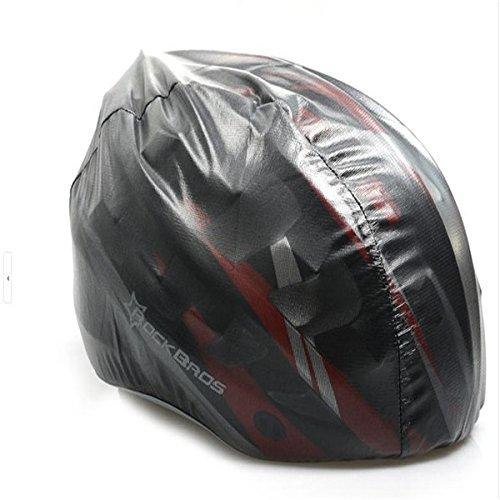 ShopSquare64 Rockbros Fahrradhelmabdeckungen Fahrrad Regenschutz Ultraleicht Abdeckung