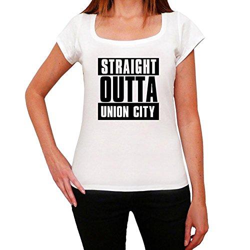 Straight Outta Union City, t-shirt damen, stadt tshirt, straight outta tshirt