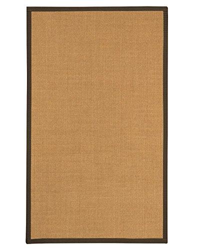 NaturalAreaRugs Hayford Sisal Teppich Modern 3' x 5' beige - 3' Sisal-teppich