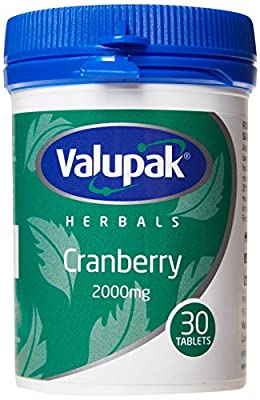 Valupack 2000mg Cranberry Tablets - Pack of 30 by BR Pharmaceuticals