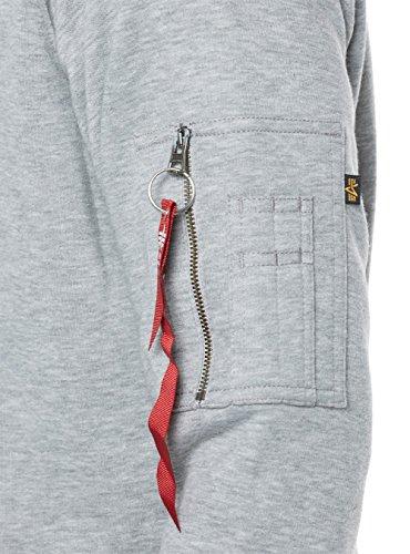 Alpha Industries Herren Sweatshirt graumelange