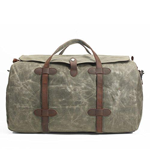 DJB/Canvas Taschen Frauen Handtaschen der Große Kapazität Wasserdicht Staubbeutel armee-grün