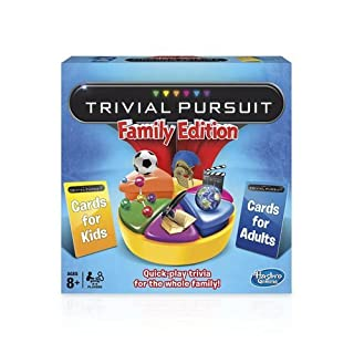 Hasbro Gaming Trivial Pursuit: Family Edition (B00W02E8T0) | Amazon Products