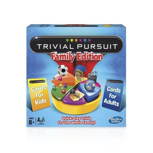 Hasbro Gaming Trivial Pursuit Family Edition Board Game