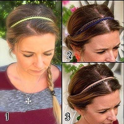 Cadeau pour femme : Headband bohème en cuir, Bijoux de tête, Accessoire cheveux, Bandeau pour cheveux Bijoux Cheveux