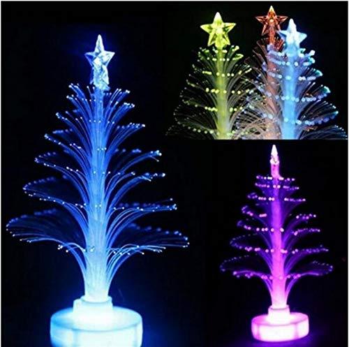 Farbwechsel Party Weihnachtsbaum LED Lampe austauschbare Elektronik Recycling Weihnachtsschmuck für zu Hause Neujahr Geschenk