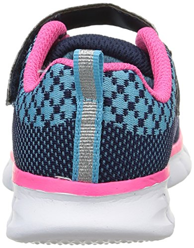Skechers Synergy Lil Bubbly, Mädchen Sneakers Blau (NVHP)