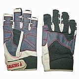 Lalizas Segelhandschuhe aus Amara Leder mit fünf freien Fingern, in den Größen S bis XXL (M)