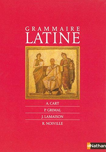 Grammaire latine par Adrien Cart