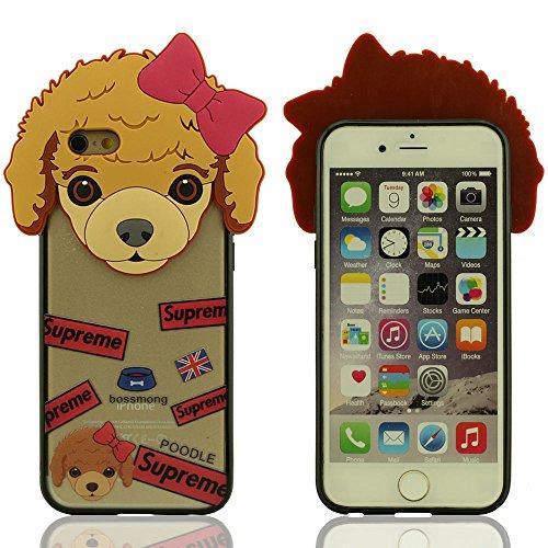 iPhone 6S Plus Coque, iPhone 6 Plus (5.5 Pouce) Coque - Bulldog Series - Nouveau Style Très Mince Très Lumière Rigide Coque, Shell de protection pour iPhone 6 Plus / 6S plus Résistance Chute (iPhone 6 Color-4