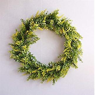 Liveinu-Grapevine-Kranz-mit-Knstlicher-Blumen-Trkranz-Frhlingskranz-Weihnachtskranz-Weihnachts-Trkranz-Weihnachtsdeko