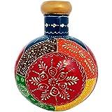 Etsibitsi Hand Painted Metal Flower Vase, Flower Pot, Table Decor, Gift Big Size
