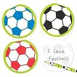 Kit de Bloc-Notes Ballon de Foot (Lot de 6) - À Glisser dans Les Pochettes-Surprises des Enfants