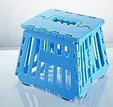 F-Eshion Portable fächerförmige faltender Schemel * 1pc zufällige Farbe