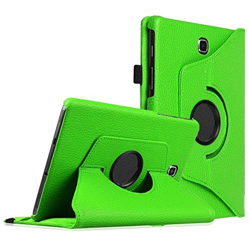 Fintie Samsung Galaxy Tab S2 8.0 Hülle - 360° drehbarer Stand Kunstleder Case Cover Schutzhülle Tasche mit Ständerfunktion Auto Schlaf / Wach für Samsung Galaxy Tab S2 (8 Zoll) T710 / T715 / T719 Tablet, Grün