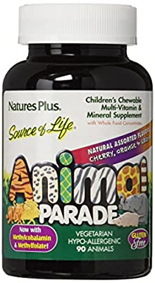 Nature's Plus UK - Animal Parade Multi-Vitamins - Assorted 90's from Nature's Plus UK