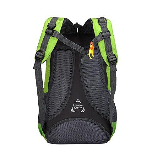 Rucksack professionelle Bergsteigen Tasche Freizeit Outdoor Paket Multifunktions Tasche Blue