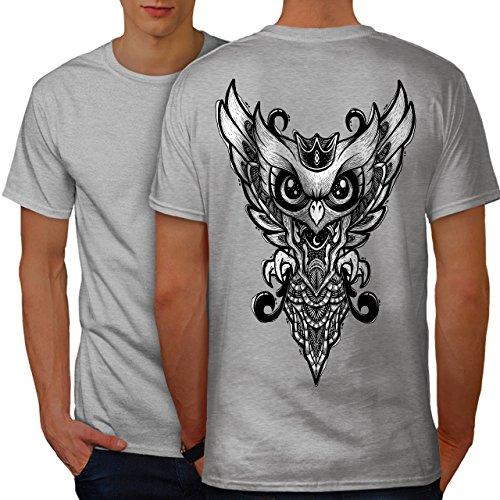 wellcoda Vogel König Flügel Tier Männer L Ringer T-Shirt (Flügel Ringer T-shirt)
