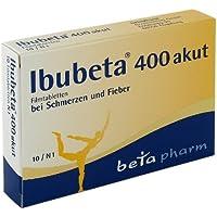 Preisvergleich für IBUBETA 400 akut Filmtabletten
