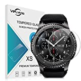 Samsung Gear S3 Frontier Protecteur D'écran, [2-Pack] VIFLYKOO Samsung Gear S3 Frontier Verre Trempé HD Film Protection Protecteur écran pour Samsung Gear S3 Frontier Smartwatch Tempered Glass Screen Protector