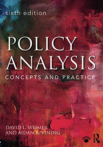 Policy Analysis: Concepts and Practice por David L. Weimer