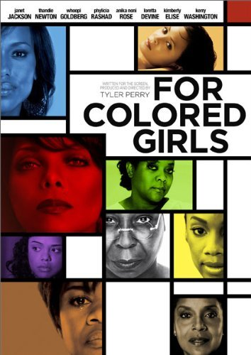 Lionsgate Home Entertainment for Colored Girls (DVD/WS/NTSC) Anika Noni Rose, Thandie Newton, Kerry Washington, Janet Jackson, Kimberly Elise