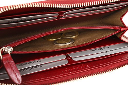The Bridge Export Donna portafoglio pelle 20 cm marrone marrone