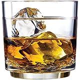 Drinique Unbreakable Elite Rocks Glass, 10-Ounce, 4-Pack
