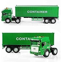 XUERUI Simulazione di camion container Camion Giocattolo di plastica giocattolo Container Toy Model