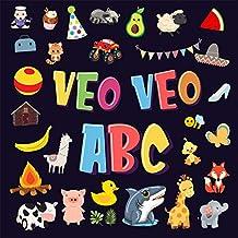 Veo Veo - ABC!: Un Juego de Buscar y Encontrar, ¡Súper Divertido para Niños de 2 a 4 Años! | Juego de Adivinanzas de la A a la Z, con Alfabeto Colorido ... (Veo Veo Libros para Niños de 2-4 nº 1)