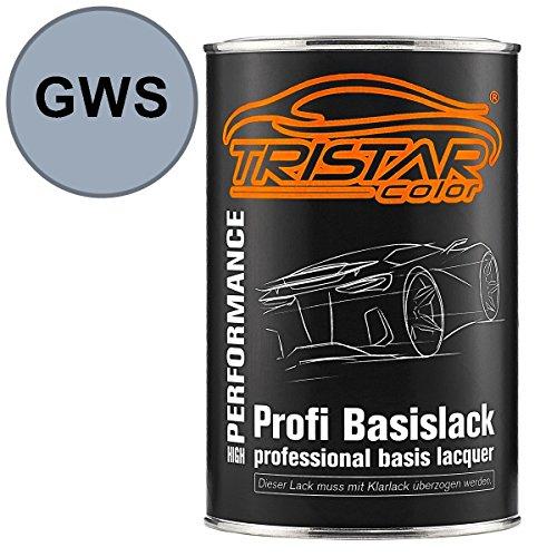 Preisvergleich Produktbild TRISTARcolor Autolack Dose spritzfertig Bedford / Vauxhall GWS Silver Topaz Metallic Basislack 1, 0 Liter 1000ml