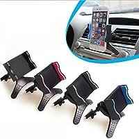 tianxiaw 360 Grad Drehen Auto Steckdose Handyhalter für Galaxie s5 Note 3.4 GPS, Black