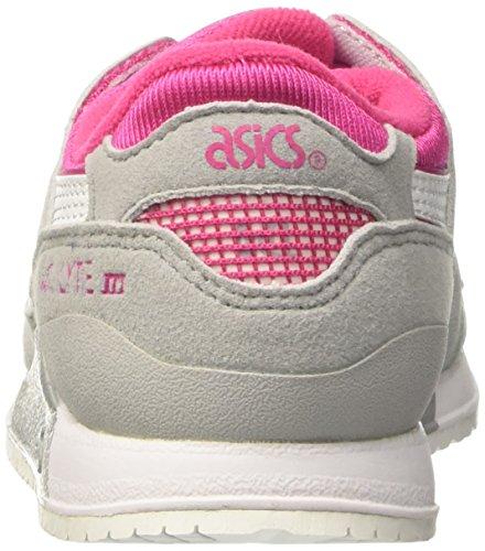 Asics Gel-Lyte Iii Ps, Chaussures de Tennis Mixte Enfant Rose (Sport Pink/white)
