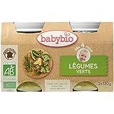 Babybio Pots Légumes Verts 260 g -