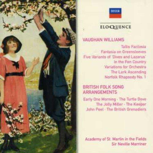 Vaughan Williams: Orchestral Works / British Folk Song Arrangements
