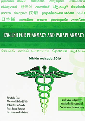 English For Pharmacy And Parapharmacy por Sara Cabo Giner