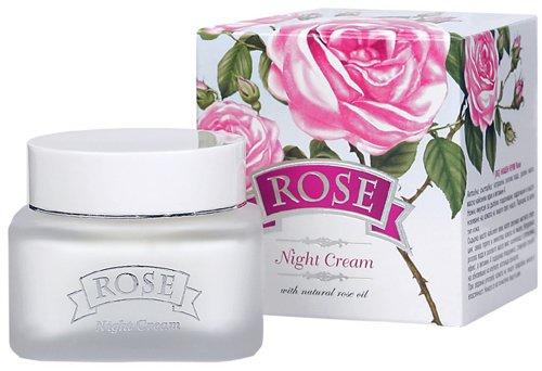 Crème de nuit à l'huile de rose 50 ml