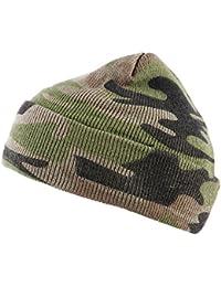 AlxShop - Bonnet Commando Camouflage - Couleur : Woodland
