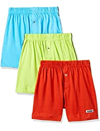 Rupa Frontline Kids Boys' Cotton Boxer (Pack of 3)