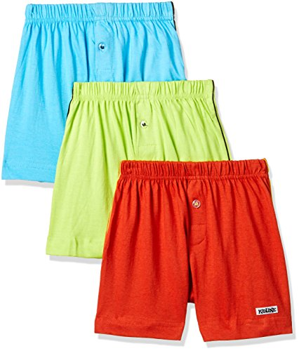 Rupa Frontline Kids Boys' Cotton Boxer (Pack of 3) (Kidz-NINZA Shorts_Assorted_60)