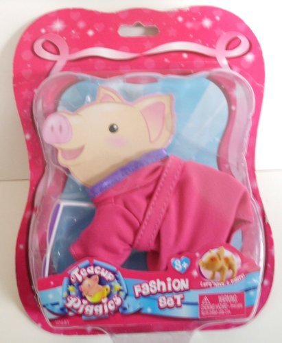 Teacup Piggies Fashion Set, Cozy Robe & Towel by Toyteck