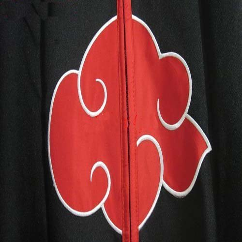 9921d01babb1 Japanese Anime cosplay costumes NARUTO Akatsuki Members Costume Cloak S